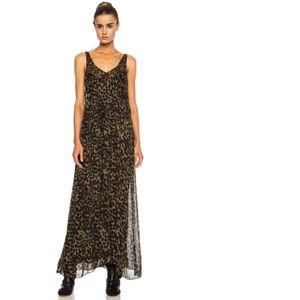 { isabel marant leopard print dress }